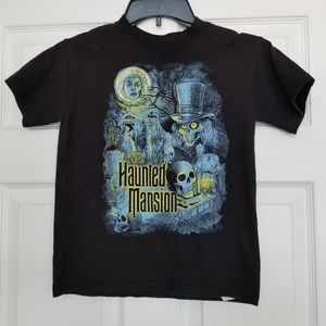 Disney Parks Haunted Mansion kids t-shirt small